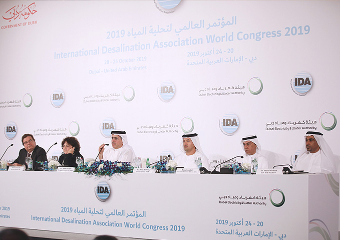 Dubai Electricity Water Authority Dewa Dubai To Host The Largest International Congress On Water Desalination