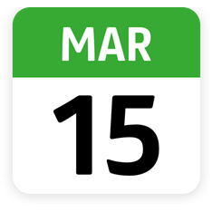 15 march