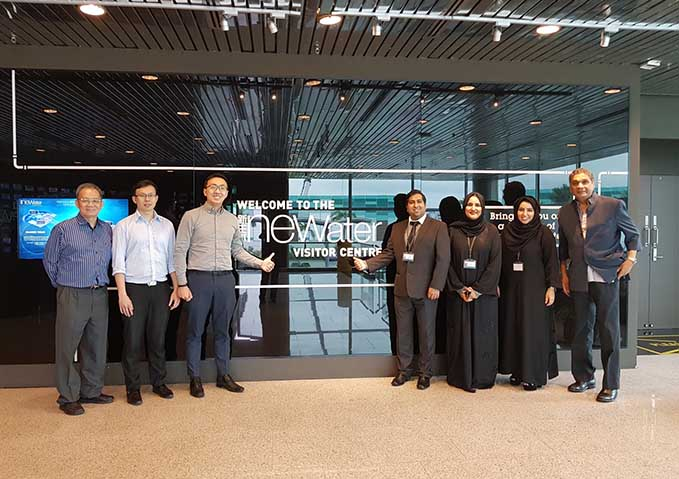 DEWA delegation conducts benchmarking with Singaporean organisations as part of DGEP's Superiority Makers programme