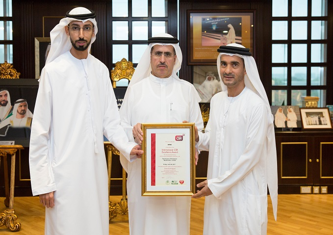 DEWA wins 3 International CSR Excellence Awards
