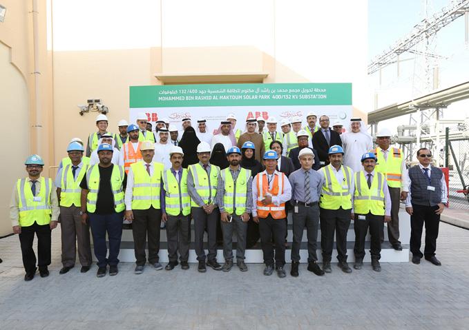 DEWA inaugurates 400/132kV substation at Mohammed bin Rashid