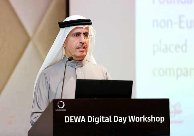 DEWA reviews future of digital technologies, Artificial Intelligence and robotics in water and energy sector
