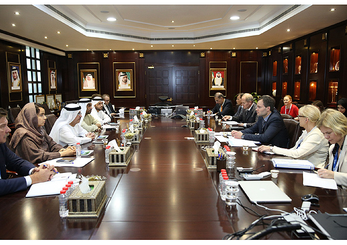 DEWA discusses cooperation in clean energy, environmental sustainability, and smart cities, with Finnish companies