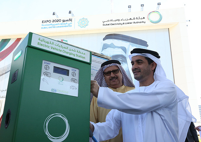 DEWA doubles to 200 electric vehicle charging stations across Dubai