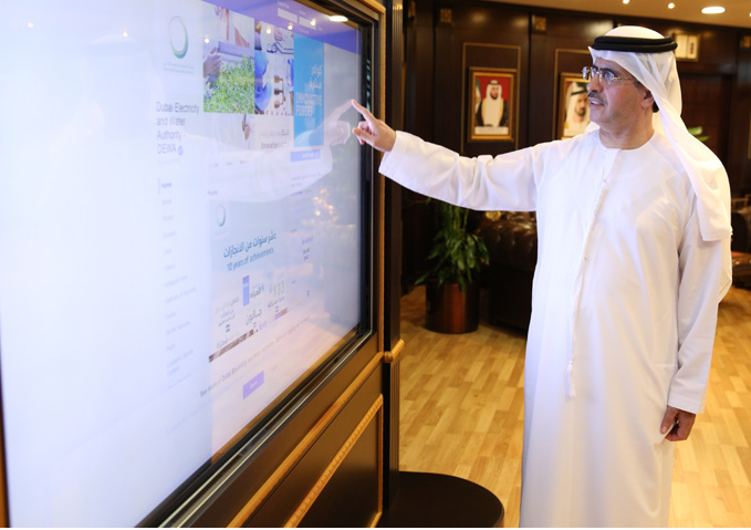 DEWA's Rammas service uses artificial intelligence to respond to customer enquiries