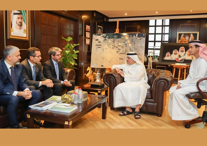 DEWA strengthens ties with French company Suez