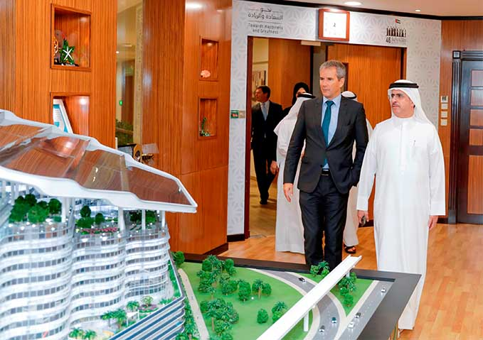 MD & CEO of DEWA receives Austria's Minister of Finance
