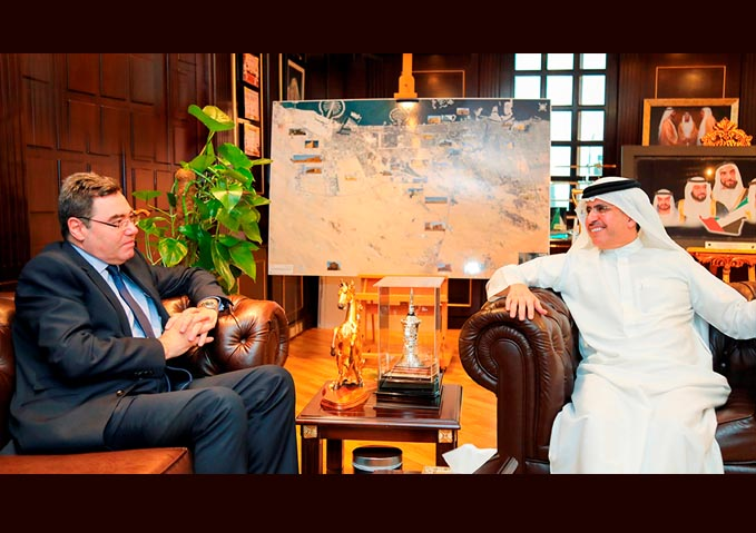 Al Tayer receives invitation to participate in World Water-Tech Innovation Summit in London
