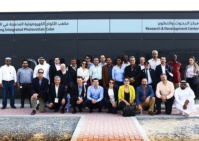 High-level delegation from World Bank and global energy companies reviews Dubai's experience in developing CSP projects