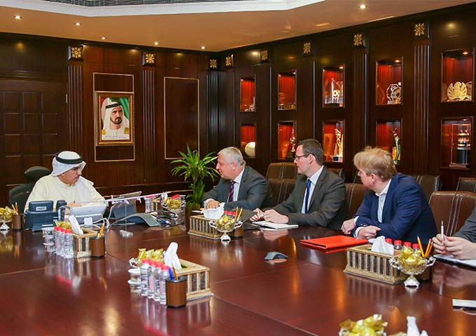 DEWA strengthens ties with Voith