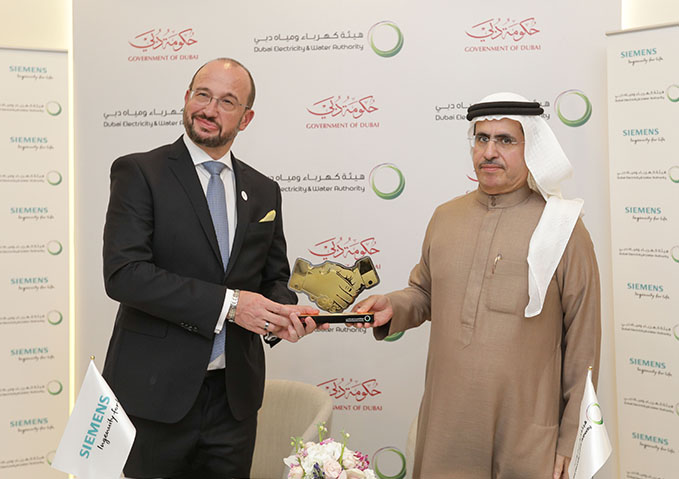 DEWA and Siemens sign MoU to cooperate in R&D in energy technologies